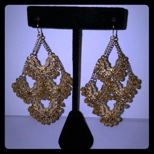 Boston Proper Chandelier Earrings